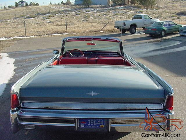 1964 lincoln continental convertible street rod hot custom. Black Bedroom Furniture Sets. Home Design Ideas