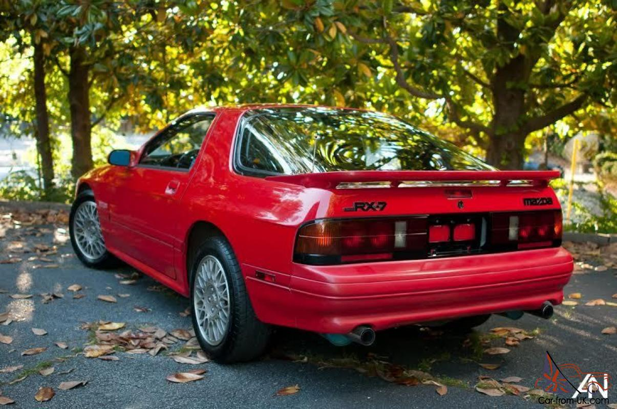 1989 Mazda RX 7 GTUs RX7 S5 Low Miles Very Clean