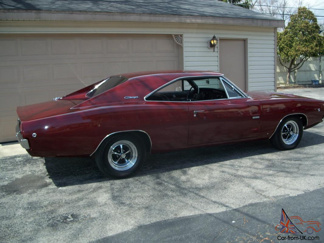 1968 426 hemi dodge charger r t for Dodge charger hemi motor for sale