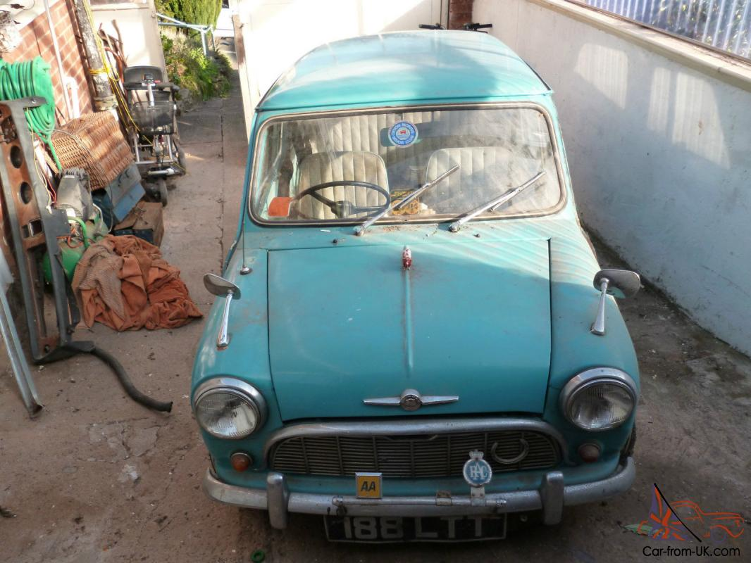 1962 Morris Mini Minor 38k Miles Restoration Project Garage Barn Find