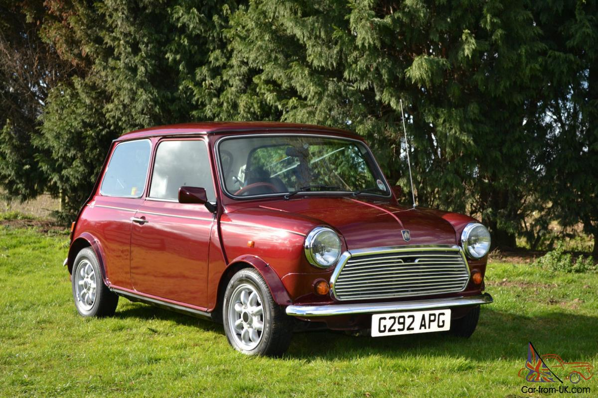 Austin Mini Thirty 10 Pearlescent Cherry Red