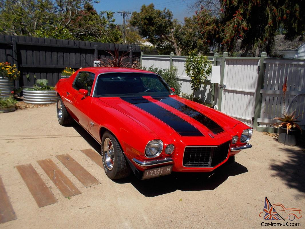 Chevrolet Camaro Ss Rs 1972 2d Coupe 4 Sp Automatic 5 7l Video Added