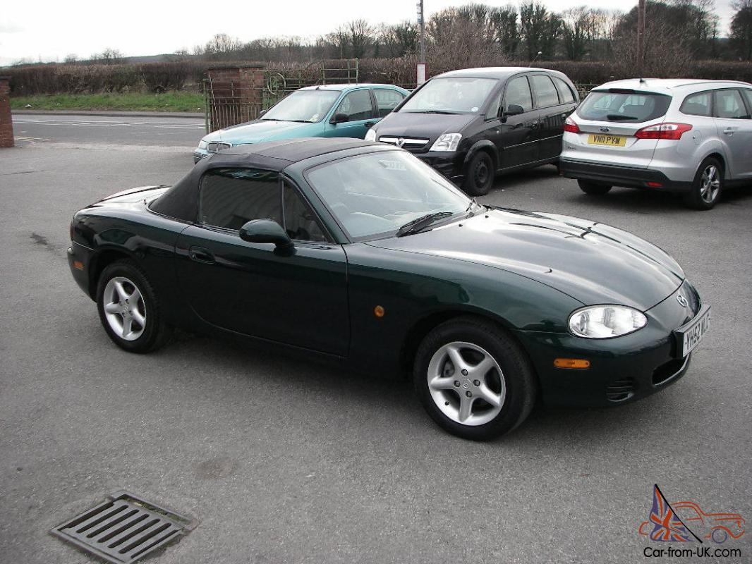 2002 52 mazda mx5 convertible with hard top. Black Bedroom Furniture Sets. Home Design Ideas