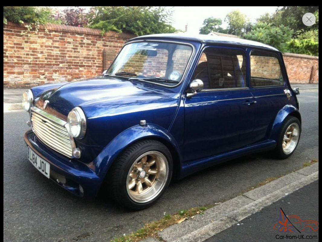 Rover Classic Mini Italian Job Zeemax 1275 Carb Show Car