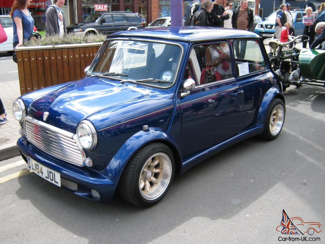 Rover Classic Mini Italian Job Zeemax 1275 Carb Show Car Immaculate