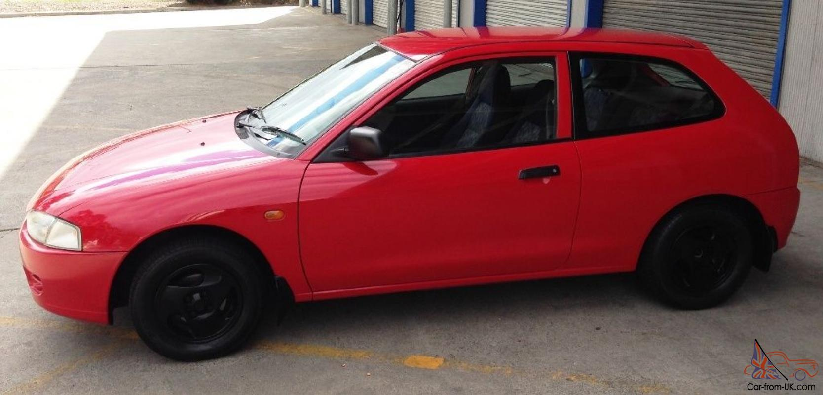 Mitsubishi Mirage 1997 3D Hatchback 5 SP Manual 1 5L Multi Point F INJ in  Glen ...