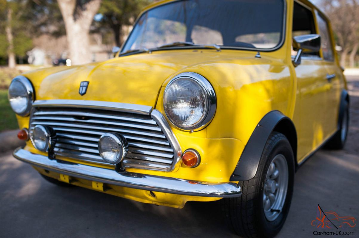 1970 Classic Mini Cooper Leyland 998cc With Taxi
