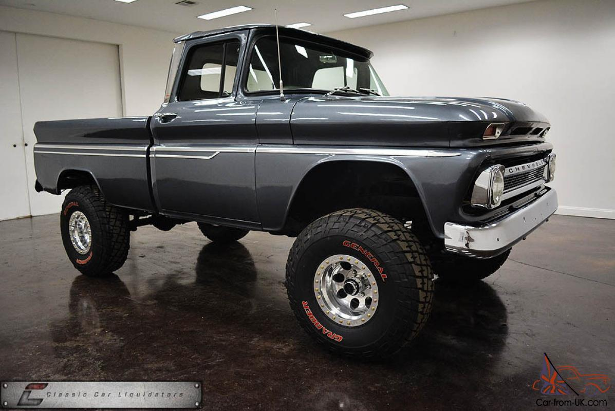 1963 Chevrolet 4x4 Swb Pickup Cool Truck Must See