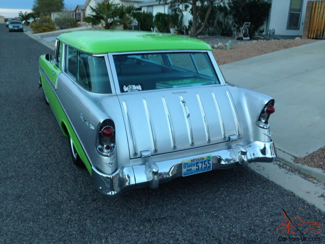 "1956 Chevy Nomad AS SEEN ON TV by Fast ""N"" Loud for Dale Jr., Green"