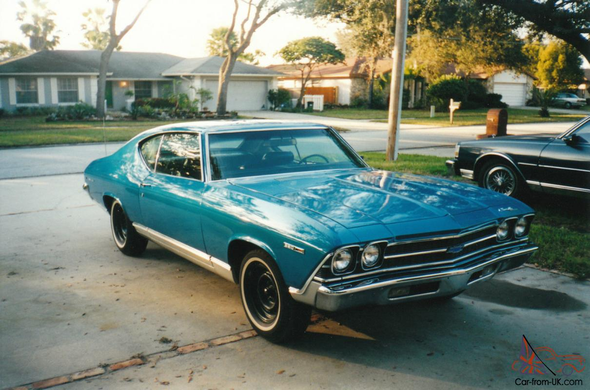 1969 Chevelle Malibu 350/300 HP original parts & owners/ frame-off ...