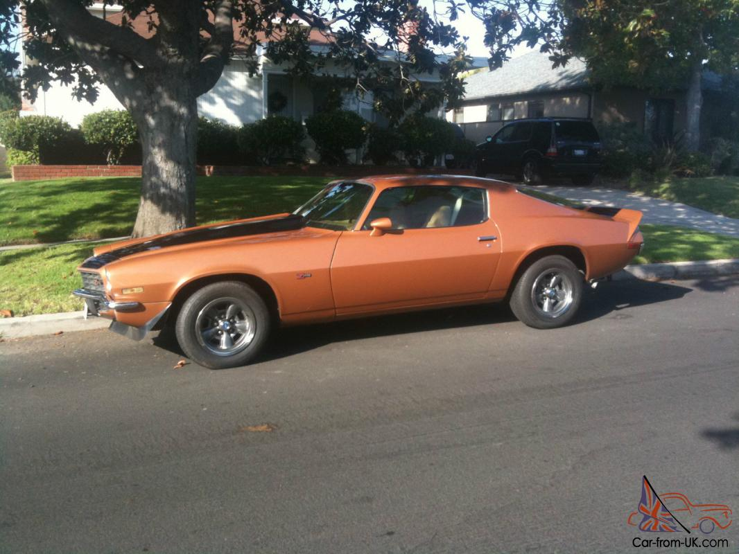 1973 chevrolet camaro z28 - photo #44