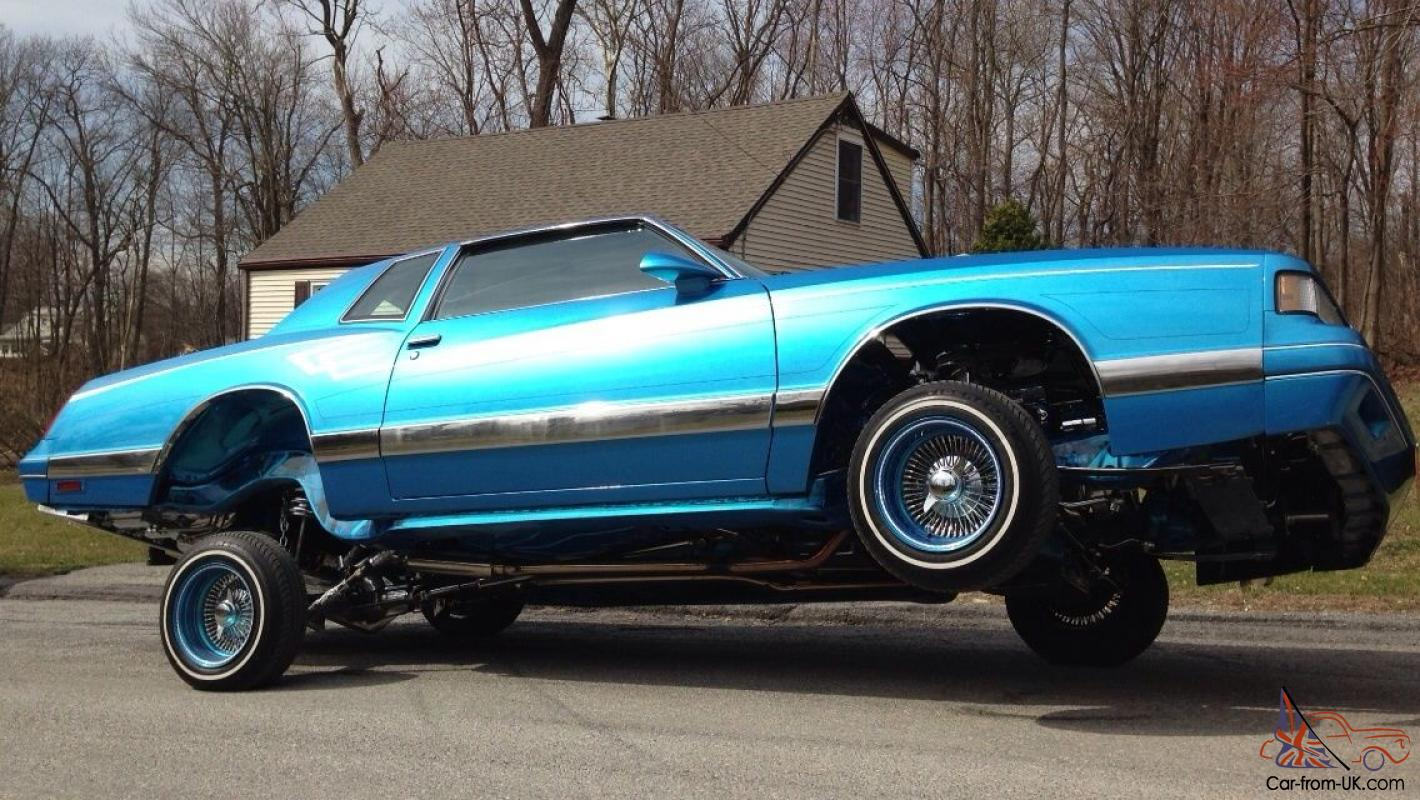 1987 monte carlo lowrider fully wraped frame3 pumps 10 batts piston to