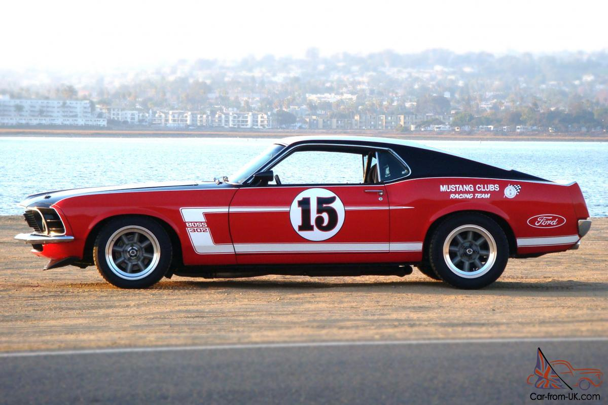 1970 mustang fastback boss 302 trans am tribute 625 hp parnelli jones approved