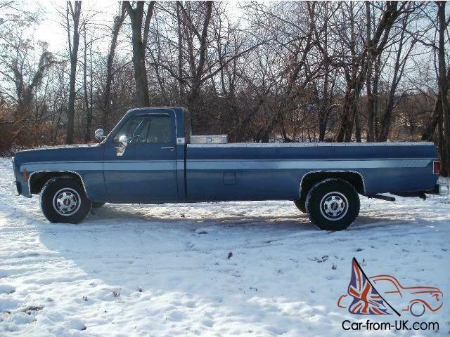 Rare Long Bed 12ft Pick Up 454 Big Block Tow Scottsdale