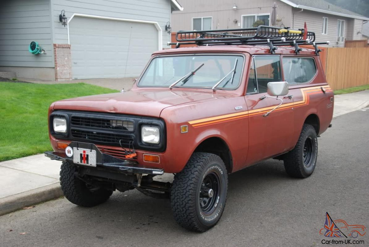ebay827000 diesel powered scout ii ***  at gsmportal.co