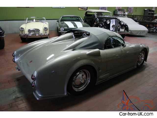Porsche 550 Spyder Custom Built Type 4 901 5 Speed Magazine Car