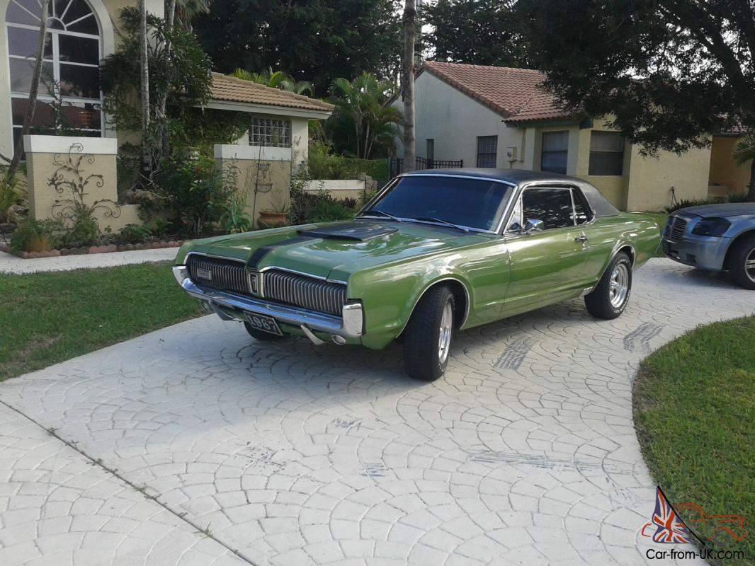 Used Green 1967 Mercury Cougar Xr7 New 351 Windsor Engine