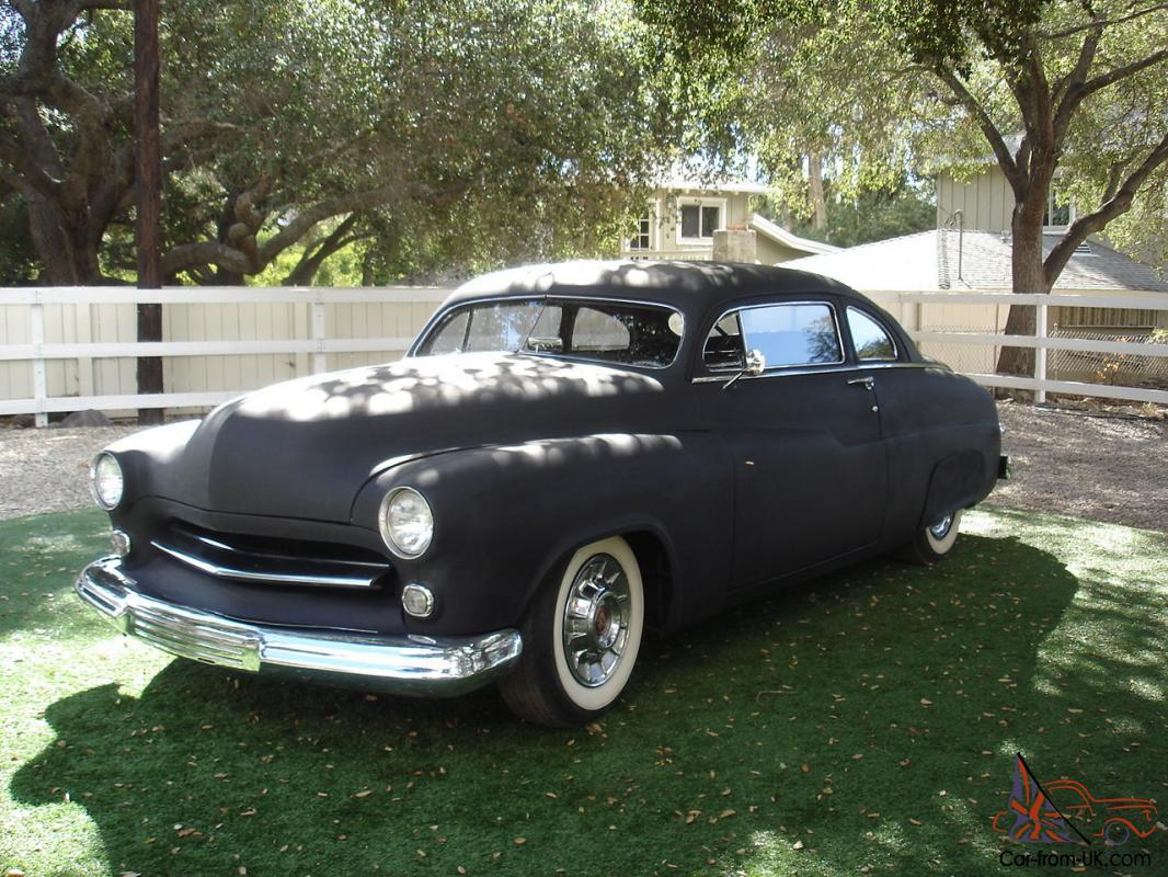 1950 mercury 2 door custom chopped top