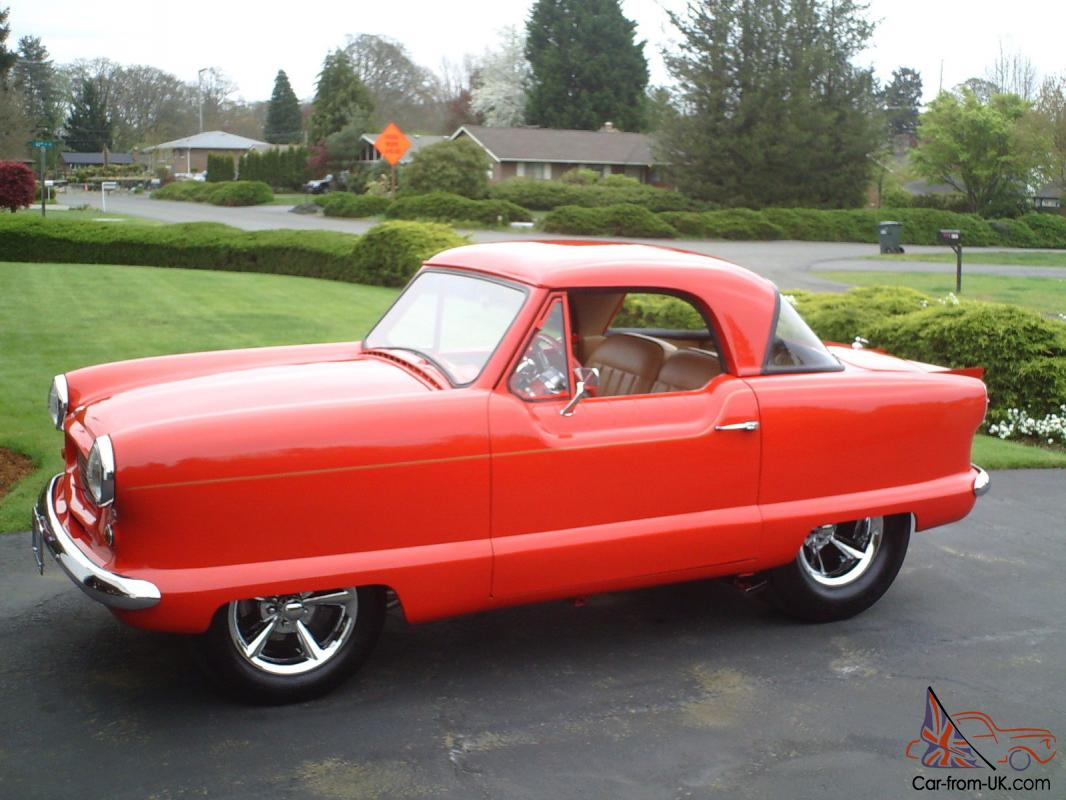 """MONSTER"" Nash Metropolitan Red Hot Rod / Street Rod"