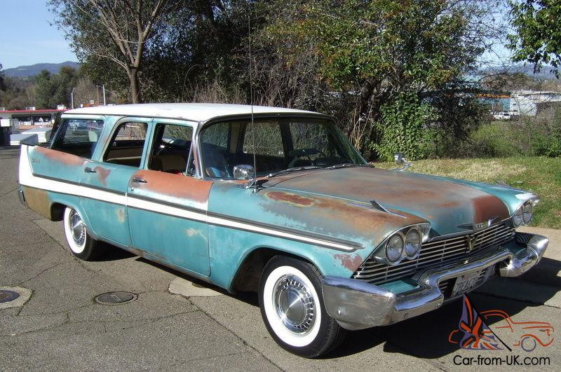 1958 chrysler station wagon