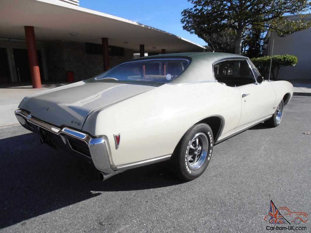 1968 pontiac gto 1 owner california car restored and only 43000 miles. Black Bedroom Furniture Sets. Home Design Ideas