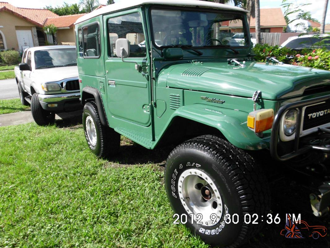 up for sale my 1976 toyota fj40 in superb conditions with