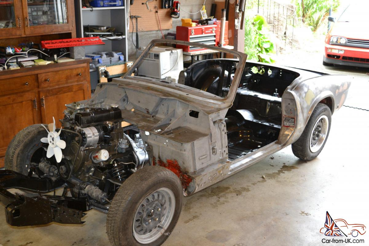 Triumph Spitfire Mark IV Project