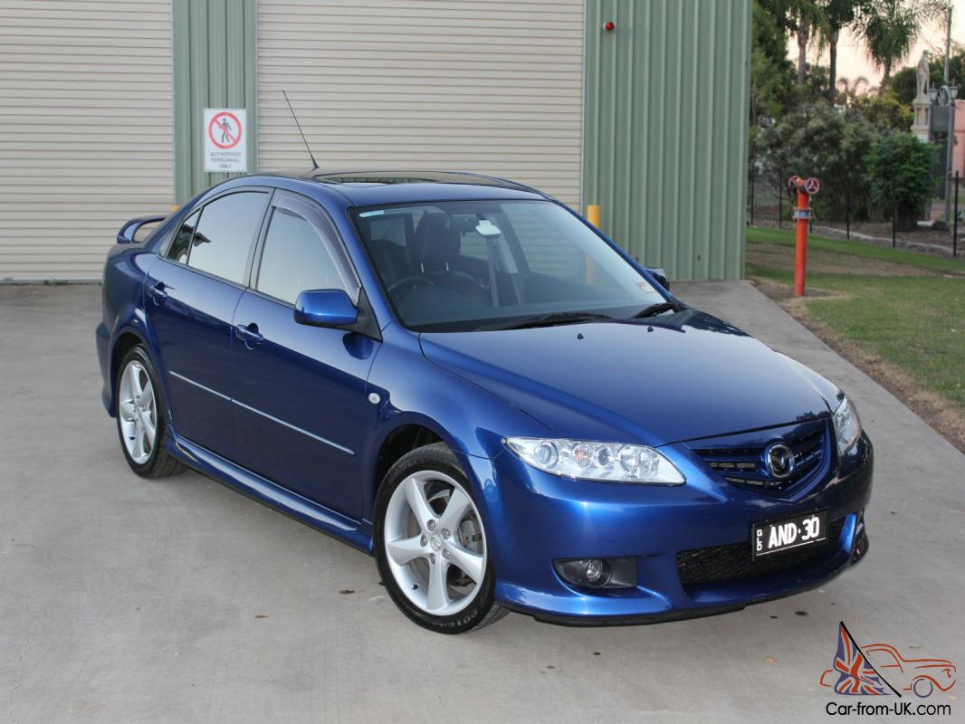 mazda 6 luxury sports 2004 5d hatchback 5 sp manual 2 3l multi point. Black Bedroom Furniture Sets. Home Design Ideas