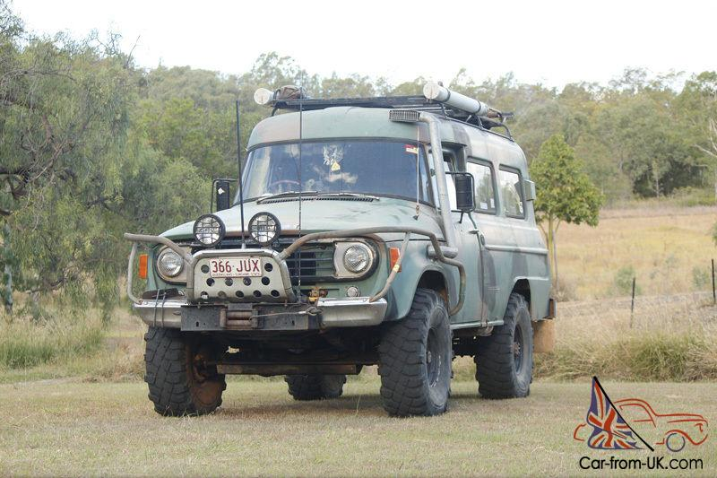 4wd International Panelvan Fully Setup For Serious Off