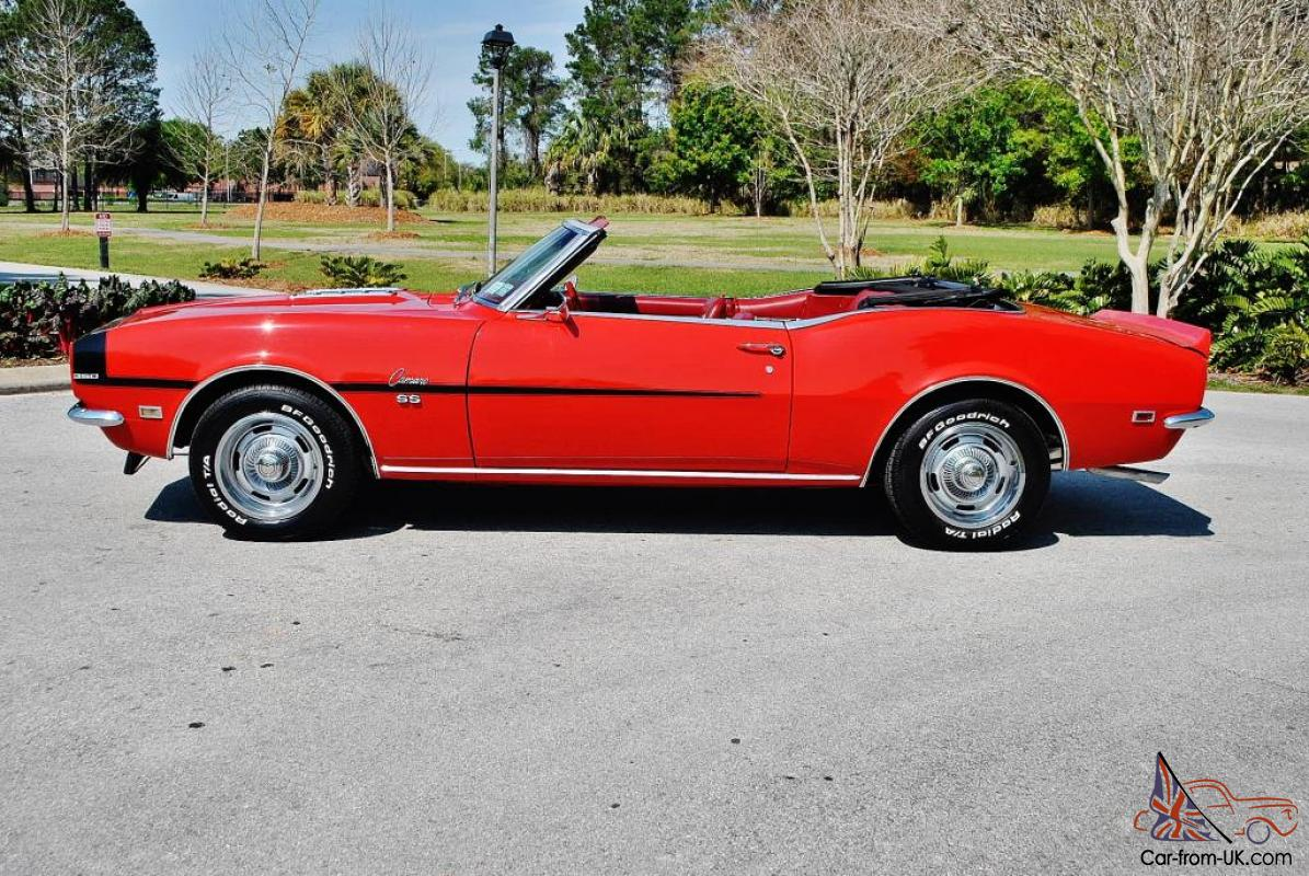 1968 chevrolet camaro ss convertible. Cars Review. Best American Auto & Cars Review