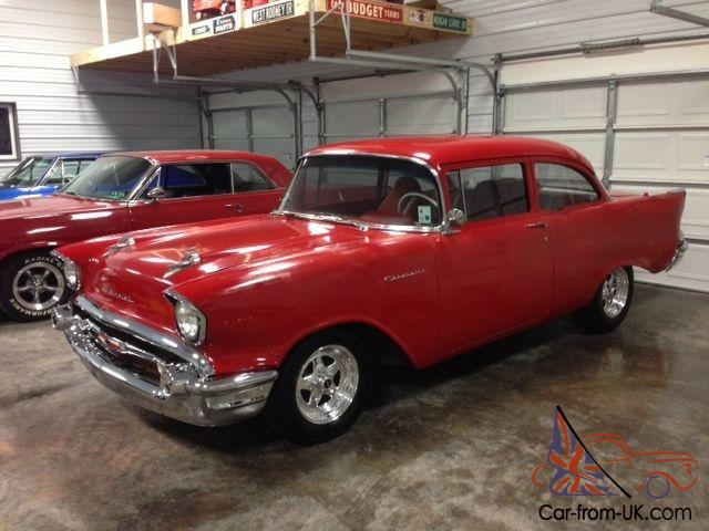 Automatic Cars For Sale Ebay Uk: 1957 CHEVY 150 VINTAGE AIR 350 AUTO