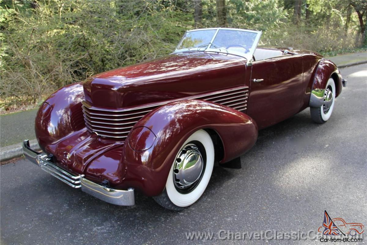 1937 cord 812 sportsman the lost cord restored see for Cord motor car for sale