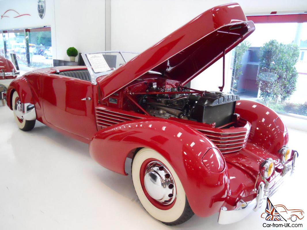 1936 cord model 810 sportsman roadster the real deal for Cord motor car for sale
