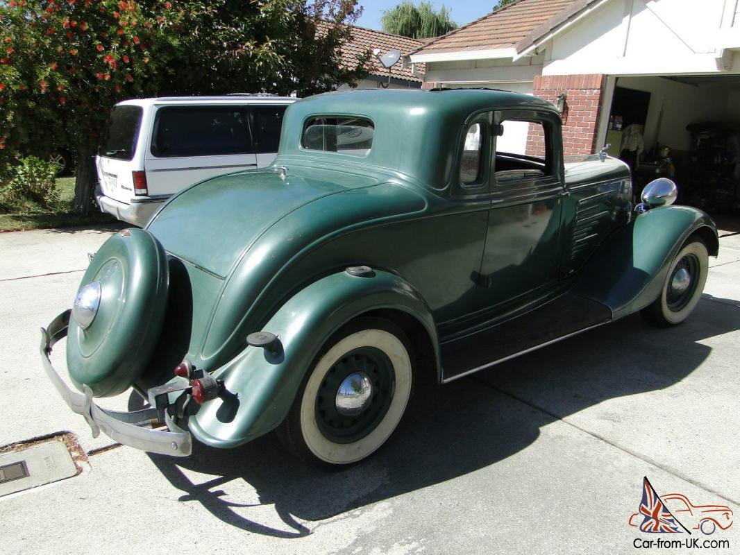1934 dodge dr delux coupe five window classic ramble seats for 1934 plymouth 5 window coupe