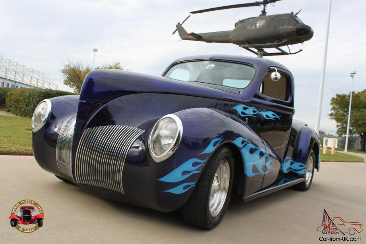 1940 ford zephyr custom pick up rick dore chip foose. Black Bedroom Furniture Sets. Home Design Ideas