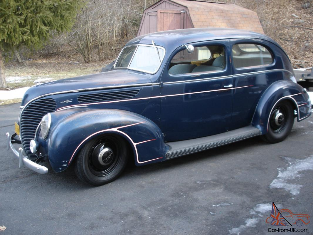 1938 ford deluxe 2 door sedan hot rod