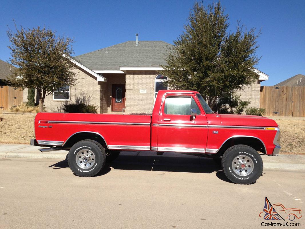 vintage 1975 ford f 250 in great condition. Black Bedroom Furniture Sets. Home Design Ideas