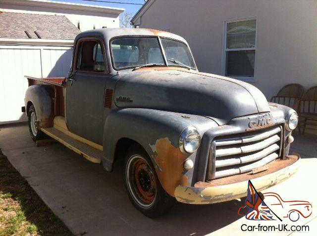 1953 gmc rare 5 window pickup truck excellent
