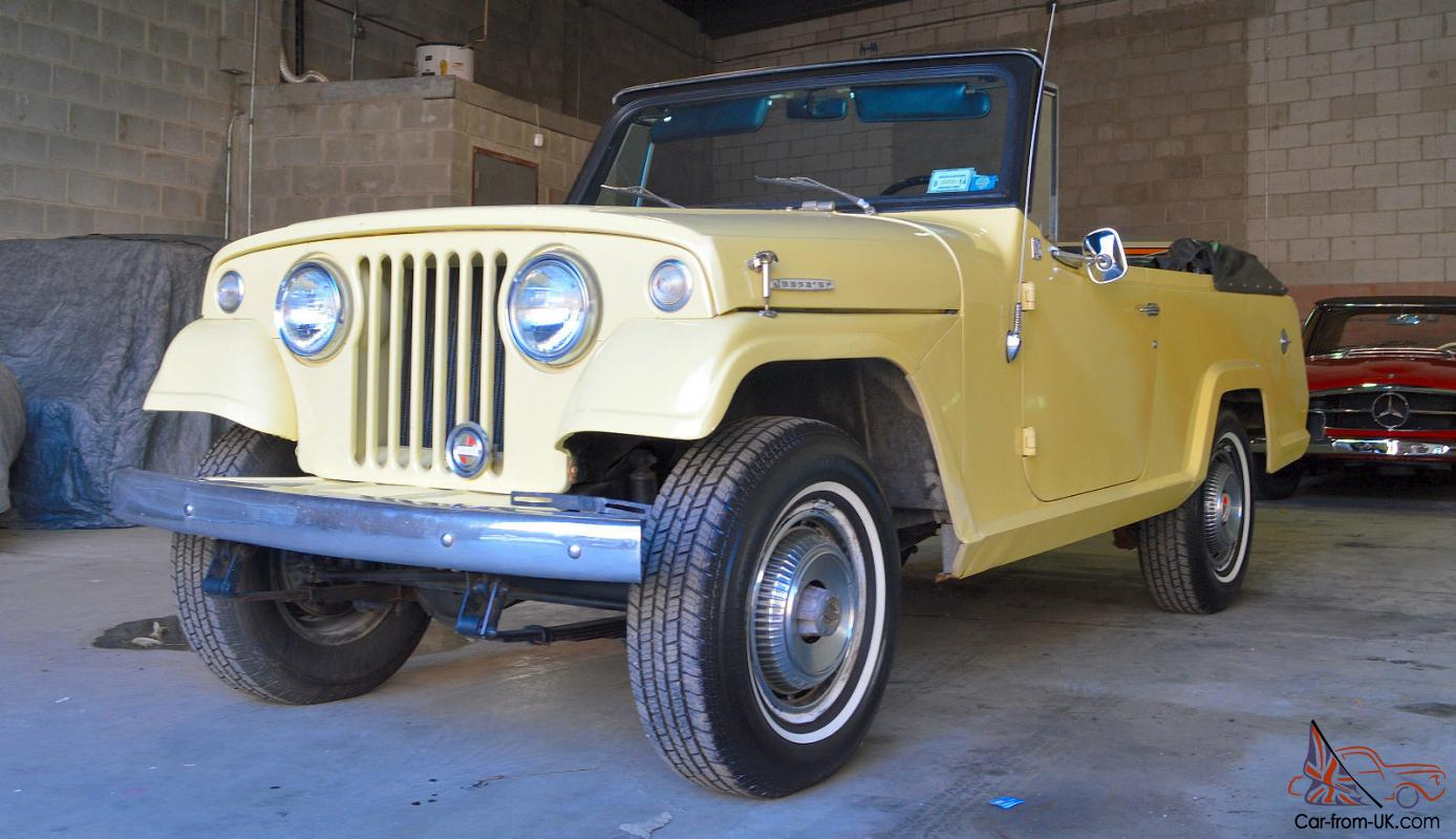 1969 jeep jeepster commando convertible restored excellent. Cars Review. Best American Auto & Cars Review