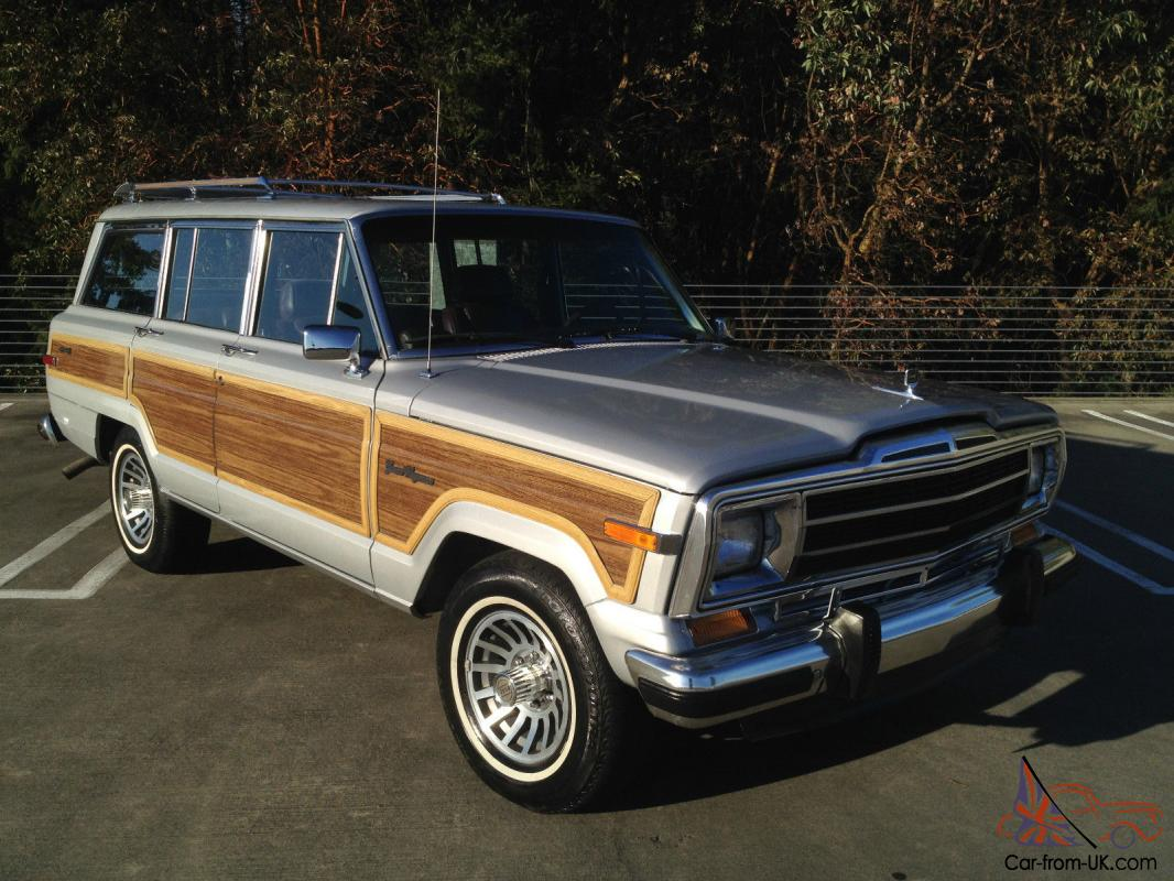 1988 jeep grand wagoneer one family owned low. Black Bedroom Furniture Sets. Home Design Ideas