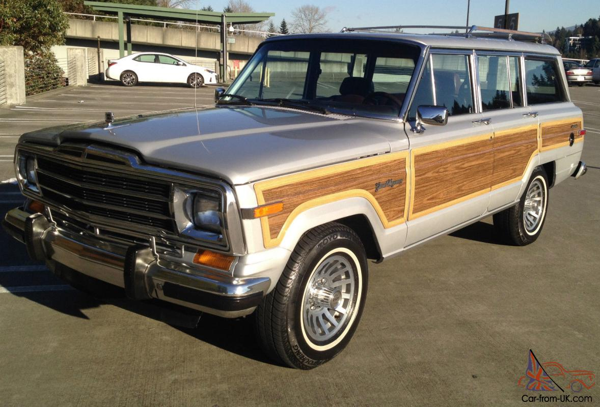 1988 jeep grand wagoneer one family owned low mileage classic suv. Black Bedroom Furniture Sets. Home Design Ideas