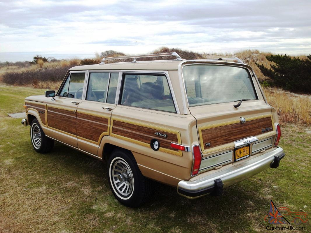 1989 Jeep Grand Wagoneer Quot Wagonmaster Quot