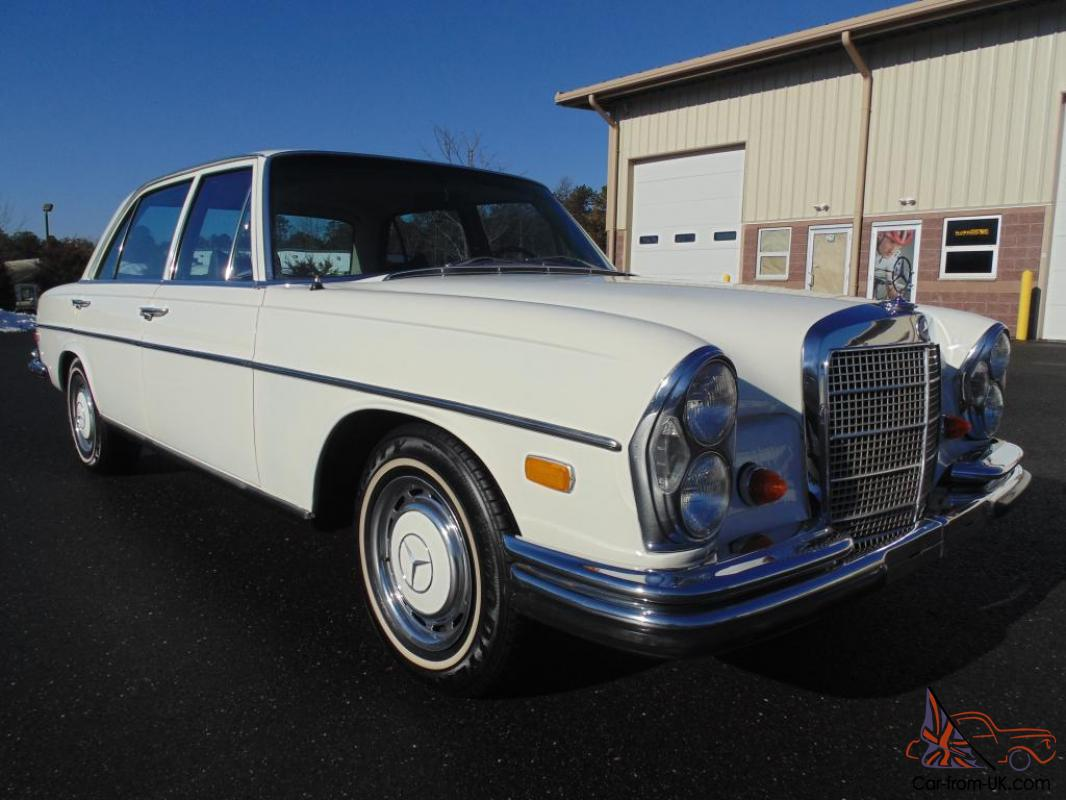 1969 mercedes benz 280 sel exceptionally clean car for Mercedes benz 1969
