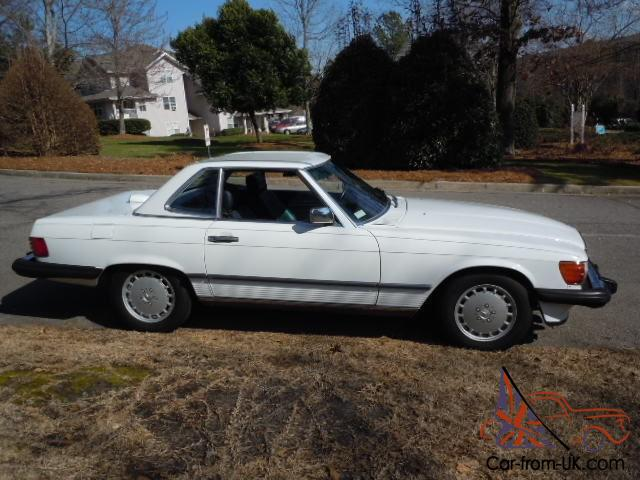 Dick Dyer Mercedes >> 1986 Mercedes Benz 560SL, One family owned! 46K, MAKE OFFER TODAY!!!!