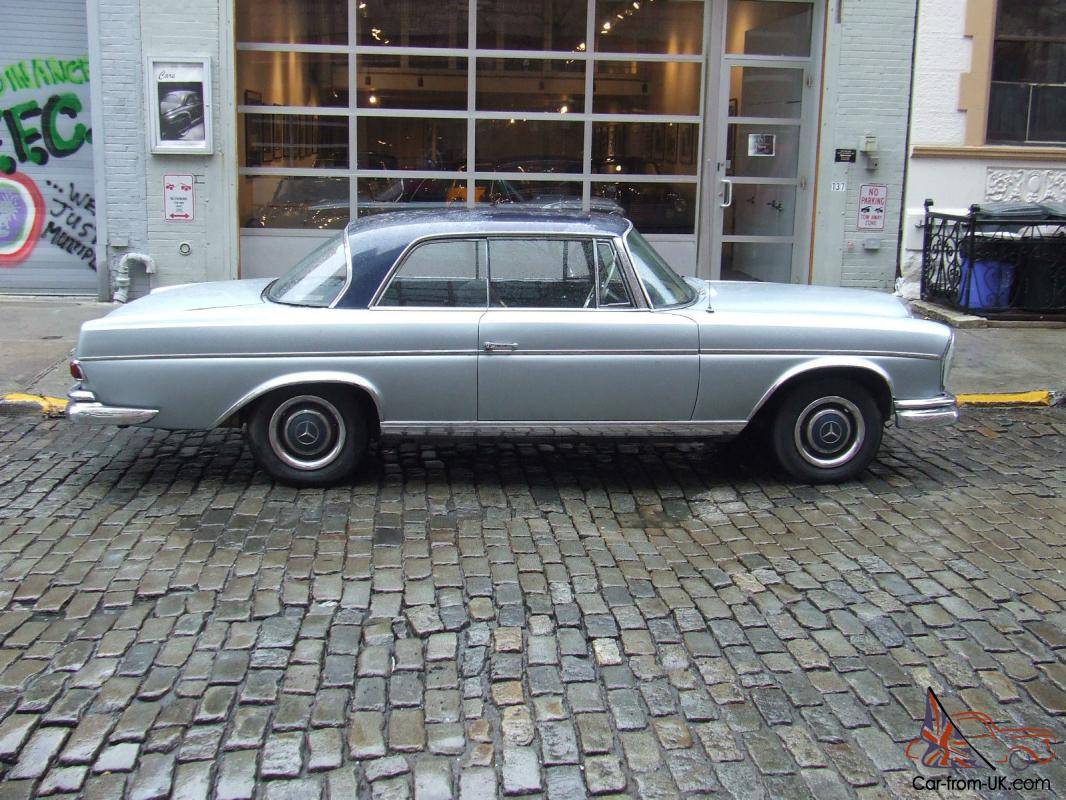 1965 mercedes benz 300se coupe four speed floor shift for Mercedes benz 300se for sale
