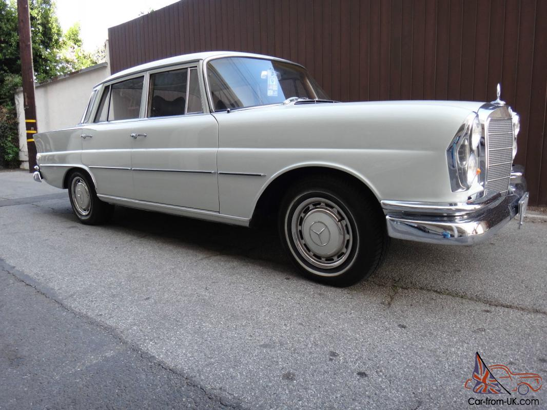 1965 mercedes 220se 4 door sedan fintail great condition for 1965 mercedes benz 220se for sale