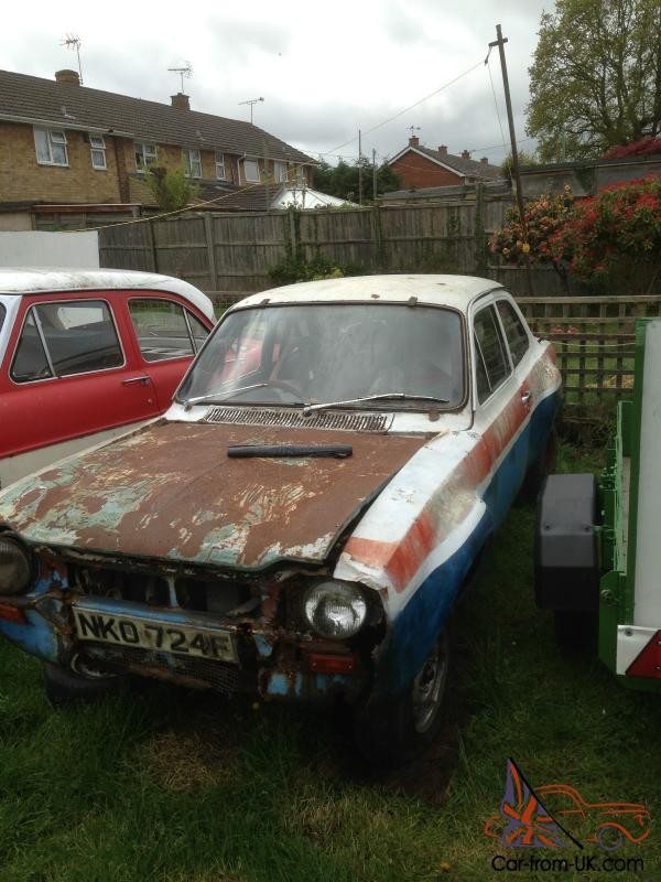 mk1 escort twin cam rally car