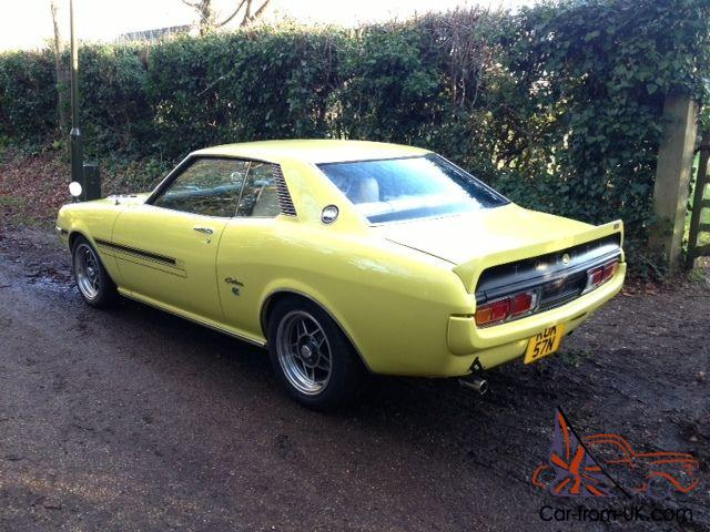 1975 toyota celica st 1 6 manual coupe in yellow fully restored ta22. Black Bedroom Furniture Sets. Home Design Ideas