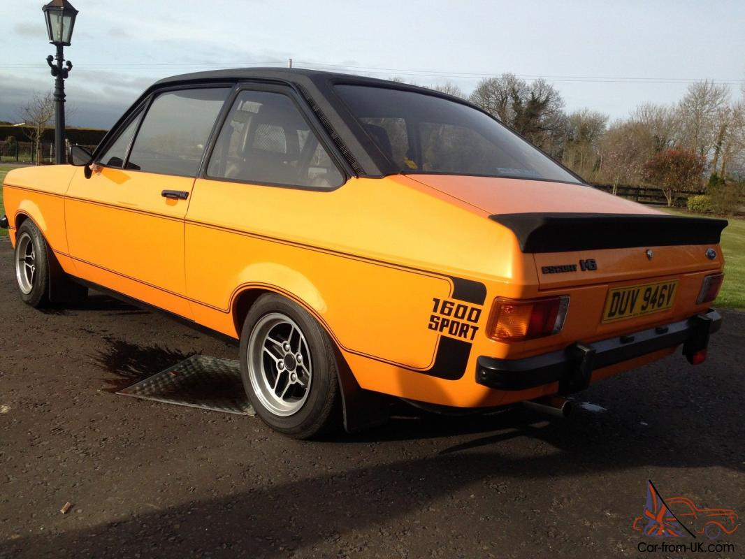 ford escort mk2 1600 sport could it be the best one you. Black Bedroom Furniture Sets. Home Design Ideas