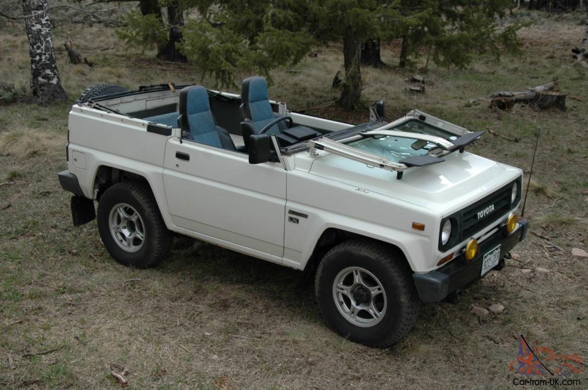 Toyota Blizzard Diesel 4x4 Soft Top Land Cruiser Jeep